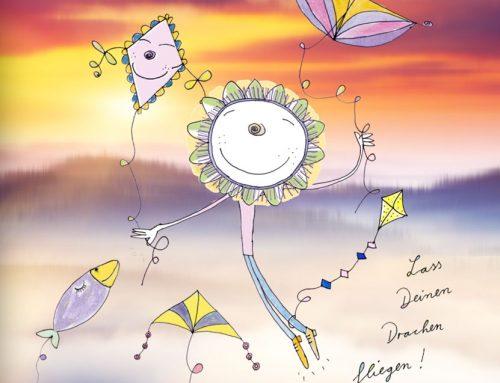 Lass deinen Drachen steigen & deine Gedanken fliegen!