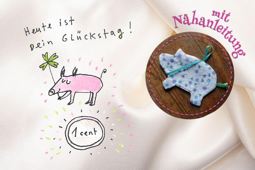 chillpost-schwein-gehabt-mit nähanleitung
