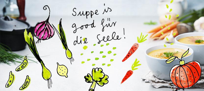 Rezept für Moro'sche Karottensuppe – gut bei Durchfallerkrankungen