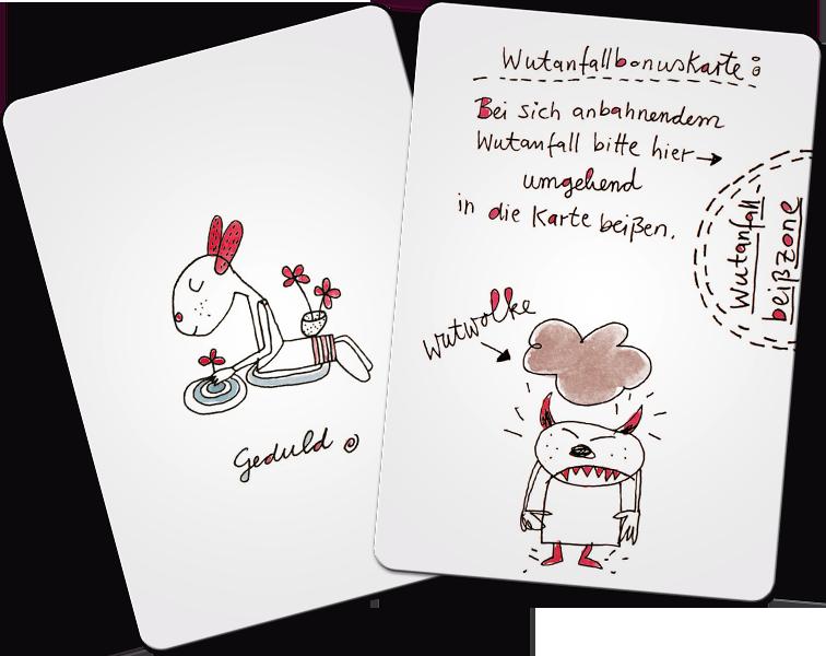 Karten aus chill mal dein leben Kartenset von Karin Clauss