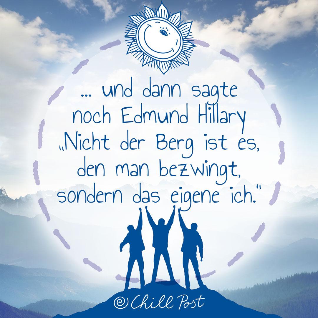 Zitat Edmund Hillary